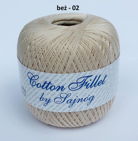 Cotton Fillet by Sajnóg kolor beżowy 00002