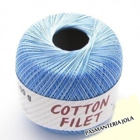 Cotton Filet Melanż 9434