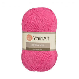 Cotton soft kolor różowy 42