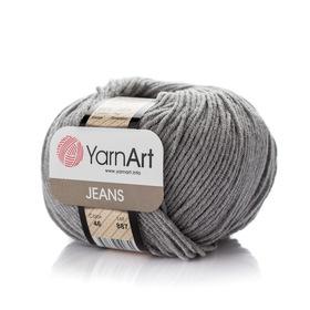 Yarn Art Jeans 46 kolor szary