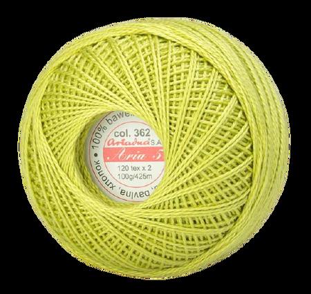 ARIA 5 kolor jasny zielony 362 (1)