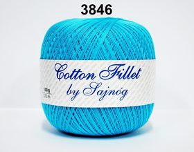 COTTON FILLET by SAJNÓG 3846 TURKUS