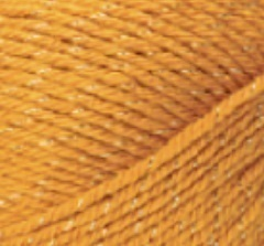 Nako PARTY kolor musztardowy 1043A