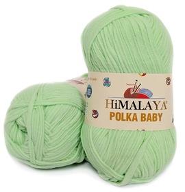 HIMALAYA POLKA BABY kolor miętowy 82003