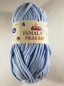 HIMALAYA POLKA BABY kolor błękitny 82005