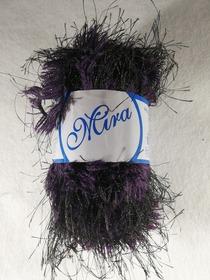 Mira kolor fioletowy z czarną nitką 19