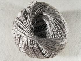 Stokrotka Mettalic kolor jasny popiel - srebrny 1813