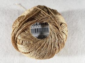 Stokrotka Mettalic kolor beżowo - złoty 1777