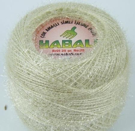 Yabali z włoskiem kolor kremowy 6005 (1)