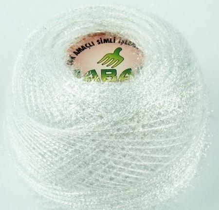 Yabali z włoskiem kolor biały 6003 (1)