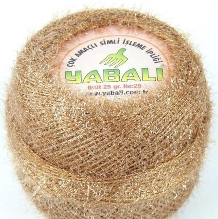 Yabali z włoskiem kolor beżowy 6030 (1)