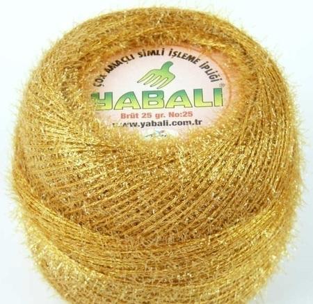 Yabali z włoskiem kolor miodowy 6038 (1)