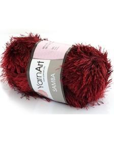 Yarn Art Samba kolor bordowy 2028