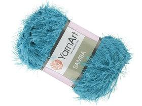 Yarn Art Samba kolor ciemny turkusowy 30