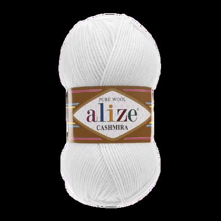 Alize Cashmira kolor biały 55 (1)