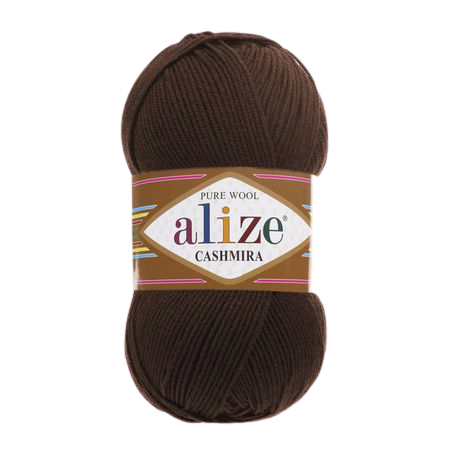 Alize Cashmira kolor brązowy 222 (1)