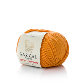 Gazzal Baby Cotton kolor złoty 3416