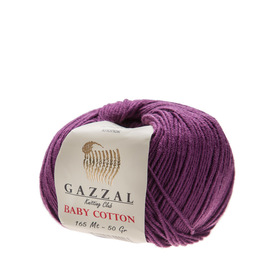 Gazzal Baby Cotton kolor fioletowy 3441