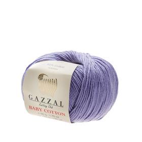 Gazzal Baby Cotton kolor lawendowy 3420