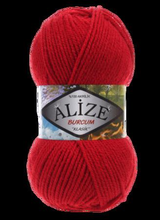 Alize Burcum Klasik kolor czerwony 106 (1)