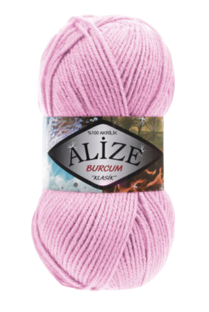 Alize Burcum Klasik kolor różowy 191 (1)
