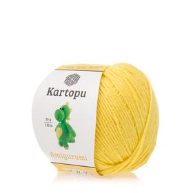 Kartopu Amigurumi kolor cytrynowy K330