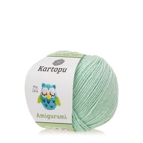 Kartopu Amigurumi kolor miętowy K507