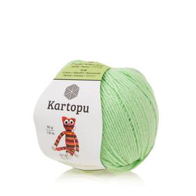 Kartopu Amigurumi kolor pistacjowy K1437