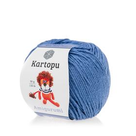 Kartopu Amigurumi kolor niebieski K1620