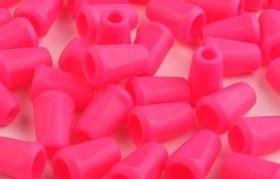 Końcówki odzieżowe 12x17mm kolor różowy