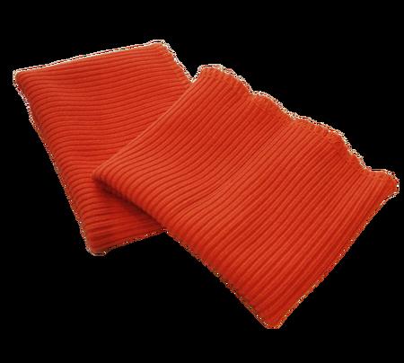 Ściągacz odzieżowy elastyczny na rękawy szerokość 7 cm kolor pomarańczowy (1)