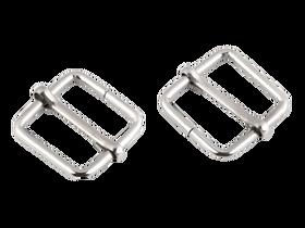Regulator metalowy kwadrat szerokość 20 mm kolor srebrny
