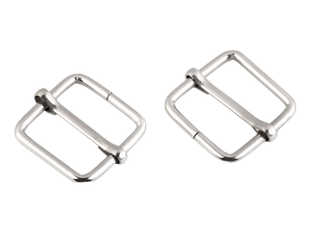 Regulator metalowy kwadrat szerokość 20 mm kolor srebrny (1)