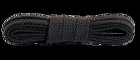 Sznurowadła (sznurówki) PŁASKIE długość 90 cm kolor czarny