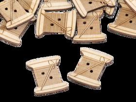 Guzik drewniany SZPULKA