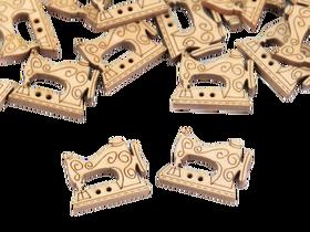 Guzik drewniany MASZYNA DO SZYCIA