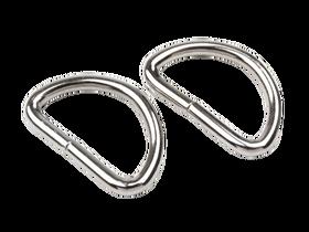 Półkółko szerokość 30 mm kolor srebrny