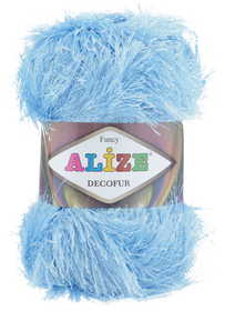 Alize Decofur kolor niebieski 40