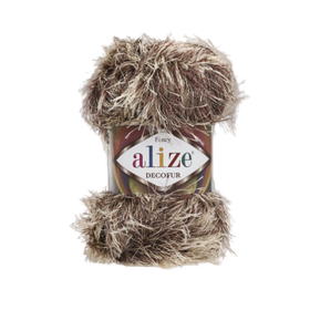 Alize Decofur melanż kolor beżowy 1367