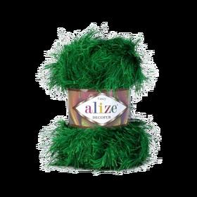 Alize Decofur kolor soczysta zieleń 595