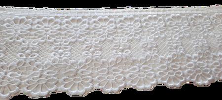 Koronka 10 cm kolor biały (1)