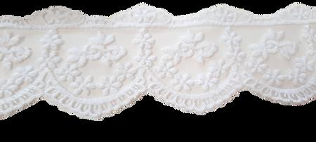 Koronka 8 cm kolor biały (1)