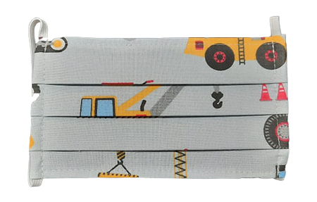 Maseczka Ochronna wzór maszyny drogowe (1)