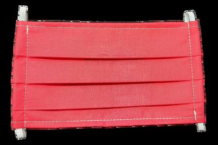 Maseczka Ochronna kolor czerwony (1)