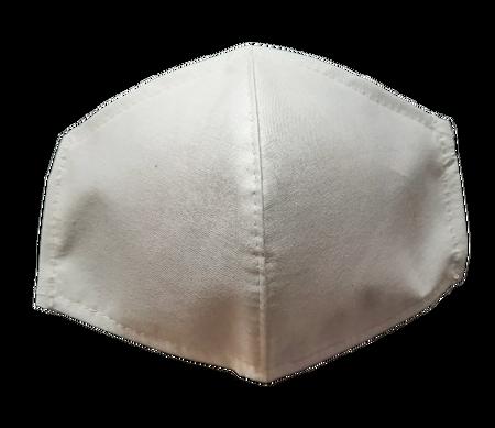 Maseczka Ochronna profilowana kolor biały (1)