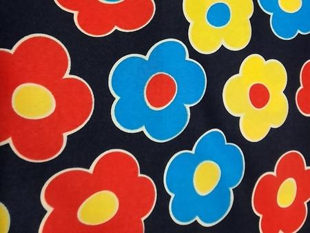 Tkanina wodoodporna wzór kwiaty (1)