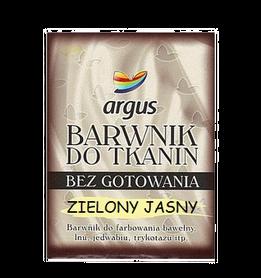 Argus Barwnik do tkanin kolor zielony jasny / 15 g