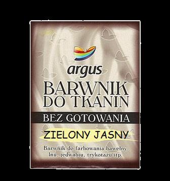 Argus Barwnik do tkanin kolor zielony jasny / 15 g (1)