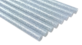 Laska Kleju na gorąco BROKAT kolor srebrny 18cm 1szt GRUBY