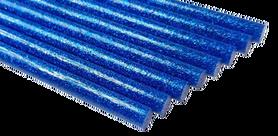 Laska Kleju na gorąco BROKAT kolor niebieski 18cm 1szt GRUBY